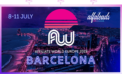 Affilate world europe 2019 Barcelona